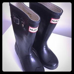 Hunter Rain Boots Little kids size 11